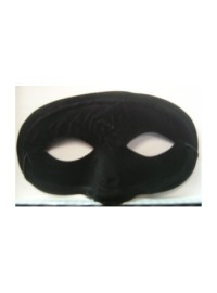 Flocked Eyemask - Black