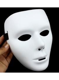 Full Face Mask - White