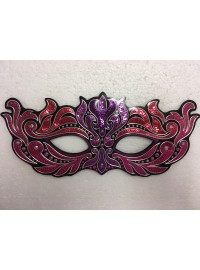 Masquerade Mask - Pink & Purple