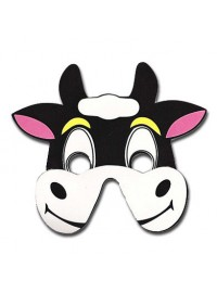 Farm Animals Foam Mask - Bull