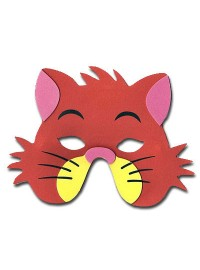 Farm Animals Foam Mask - Cat