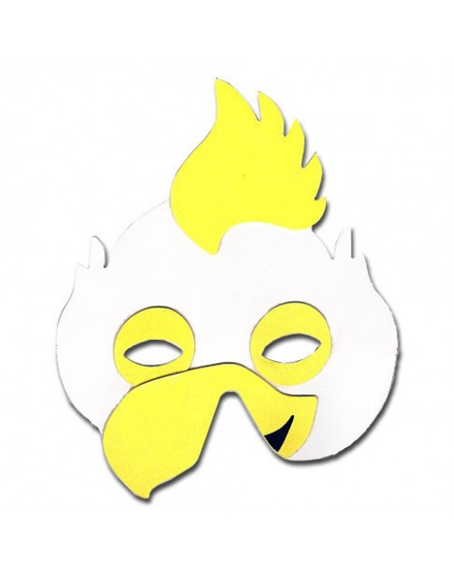 Farm Animals Foam Mask - Chicken
