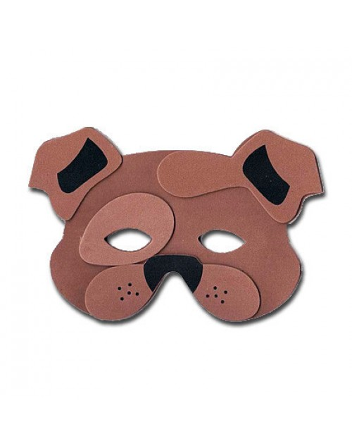 Farm Animals Foam Mask - Dog