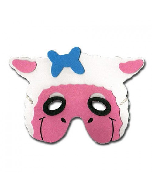 Farm Animals Foam Mask - Sheep