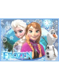 Frozen Meal Box / Bucket Sticker