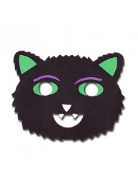Spooks & Spells Foam Mask - Scary Cat