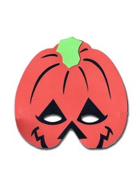 Spooks & Spells Foam Mask - Pumpkin