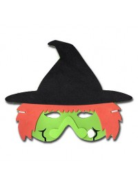 Spooks & Spells Foam Mask - Witch