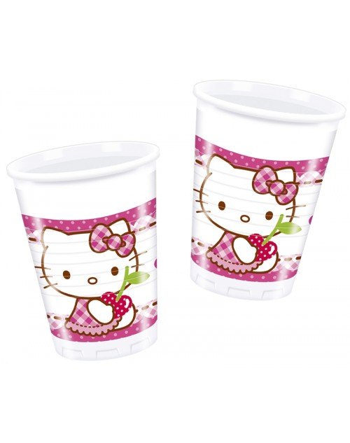 Hello Kitty Hearts Cups (8)
