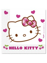 Hello Kitty Hearts Napkins (20)