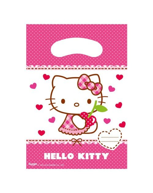 Hello Kitty Hearts Party Bags (6)