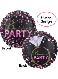 Bachelorette Party 2-sided Foil Balloon
