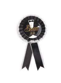 Groom to Be Rosette