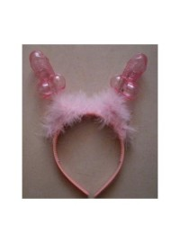 Willy Headband with Marabou