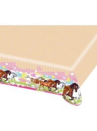 Charming Horses Tablecover