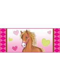 Horses Oros Bottle Sticker