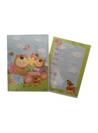 Bear Invitations (6)