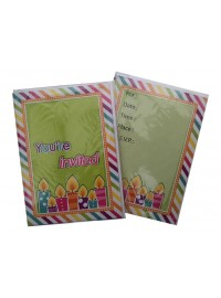 Birthday Candles Invitations (6)