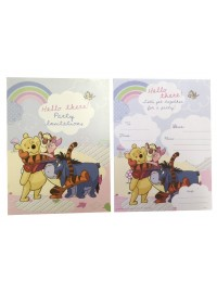 Winnie Rainbow Invitation Pad