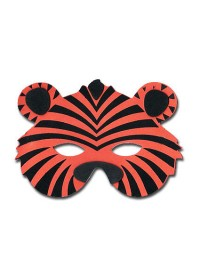 Jungle Animals Foam Mask - Tiger