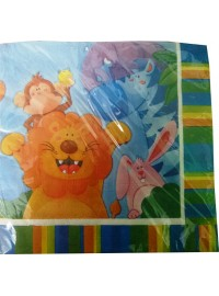 Wild Jungle Animals Napkins
