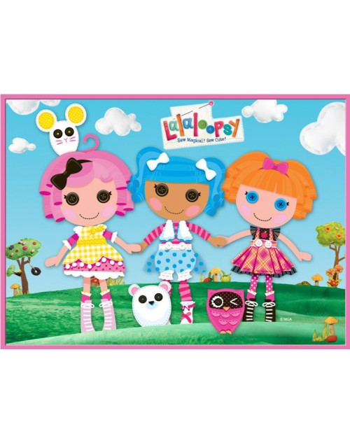 Lalaloopsy Meal Box / Bucket Sticker