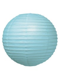 Light Blue Chinese Lantern