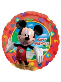 "Mickey Clubhouse 17"" Foil Balloon"