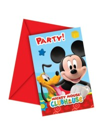 Playful Mickey Invitations (6)