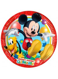 Playful Mickey Plates (8)