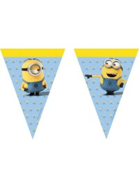 Minions Lovely Flag Banner