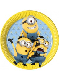 Minions Lovely Plates (8)