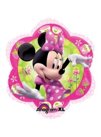Minnie Flower Shape Foil Balloon