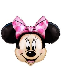 Minnie Head Supershape Foil Balloon