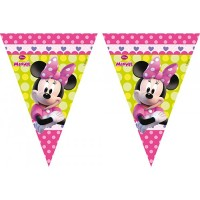 Minnie Happy Helpers Flag Banner