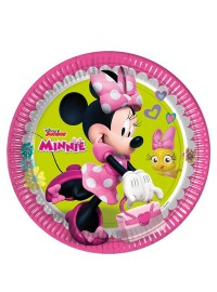Minnie Happy Helpers Plates (8)