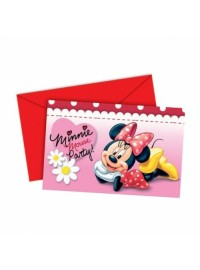 Minnie Daisies Invitations (6)