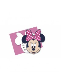 Minnie Dots Invitations (6)