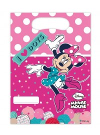 Minnie Dots Party Bags (6)