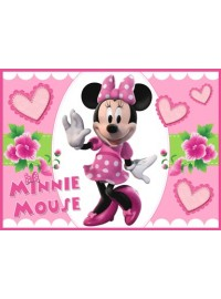 Minnie Mouse Meal Box / Bucket Sticker