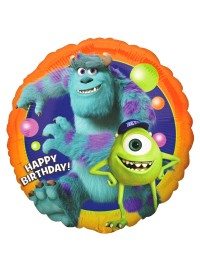 Monsters Inc Birthday Foil Balloon