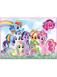My Little Pony Meal Box / Bucket Sticker