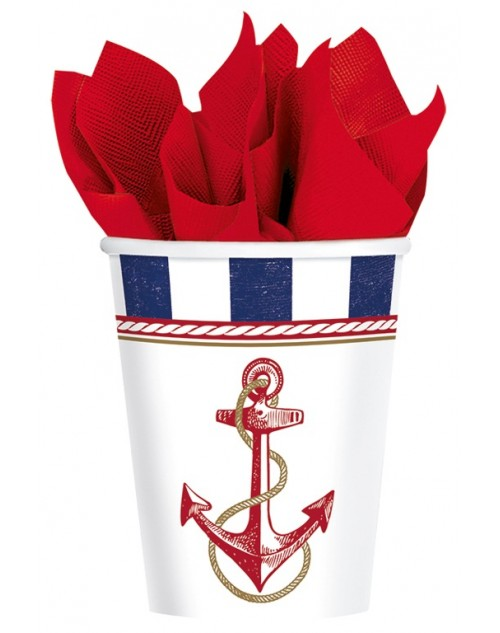 Anchors Aweigh Cups (8)