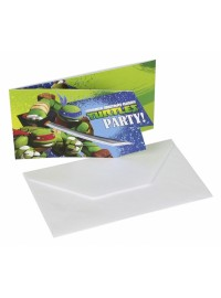 Ninja Turtles Invitations (6)