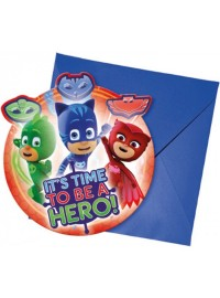 PJ Masks Invitations (6)
