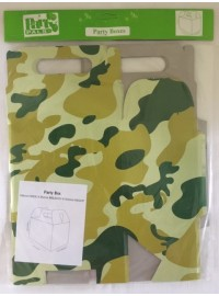 Camouflage Party Boxes (5)