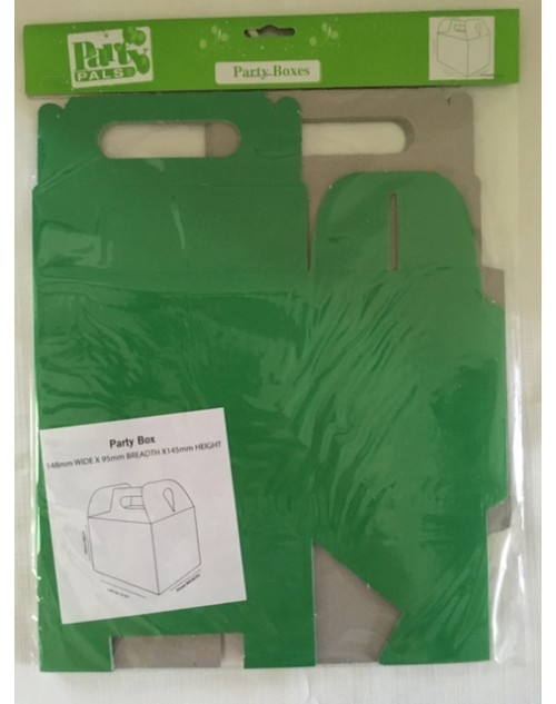 Grass Green Party Boxes (5)