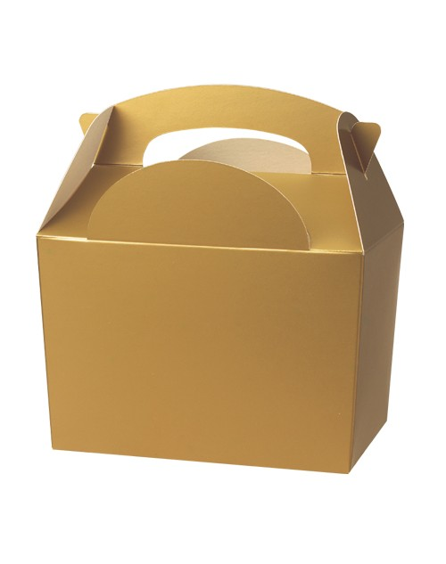Gold Meal Box