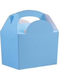 Light Blue Meal Box