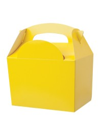 Yellow Meal Box